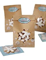 Wilton Kraft Snowflake Treat Bags, 6-Pack