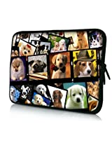"Many Dogs 6"" 7"" 7.85"" 8"" inch Touch Screen Tablet Case Sleeve Pouch Bag for Apple iPad mini/Samsung GALAXY Tab 4 7inch P3100 P6200/Acer Iconia A100/Google Nexus 7/Noble NOOK Color/HP Stream 7/LG Pad/Android Kid Tablet/ASUS MeMO Pad 7/HD 7/ProntoTec A8"