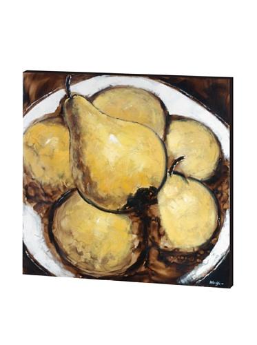 La Poire, Yellow/Naturals, 46 x 46