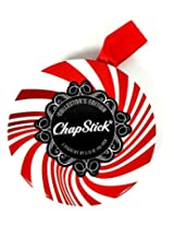 Chapstick Limited Edition Collectible Holiday Tin Includes 3 Candy Cane Sticks (Pack Of 2)