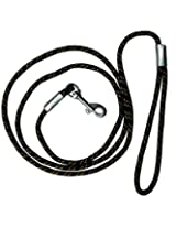Devise Nylon leash Black for dog