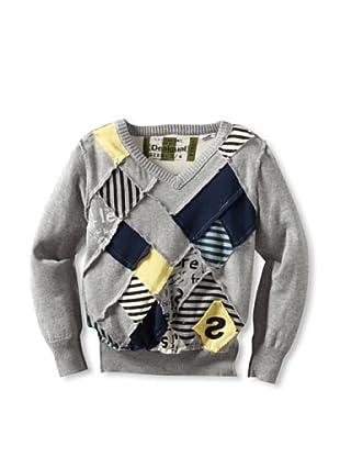 Desigual Boy's Jumanji Sweater (Grey)