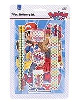 Pokemon Stationary Set, Multi Color (7 Pieces)