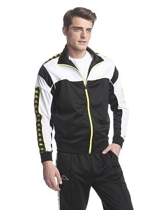 Kappa Men's Banda Tamgare Jacket (Black/White)