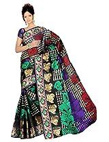 Saree Sansarr Saree (7113_Black)