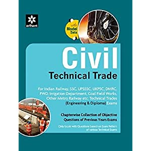 Civil Technical Trade - Chapterwise Collection Of Objective Questions Of Previous Years Exams