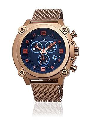 Joshua & Sons Reloj con movimiento cuarzo suizo Man JS58RG 50 mm