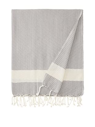 Nine Space Sultan Throw, Grey