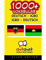 1000+ Deutsch - Igbo Igbo - Deutsch Vokabular