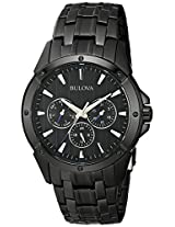 Bulova Classic Analog Black Dial Men's Watch - 98C121