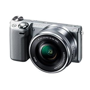 ソニー デジタル一眼カメラ α NEX-5Rズームレンズキット シルバー NEX-5RL/S