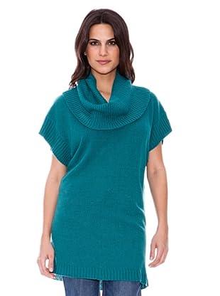 Steilmann Pullover Cuello Vuelto (Verde)