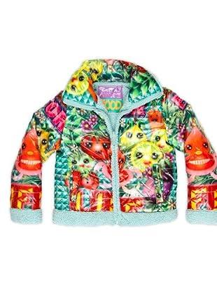 Custo Abrigo Estampado (Multicolor)