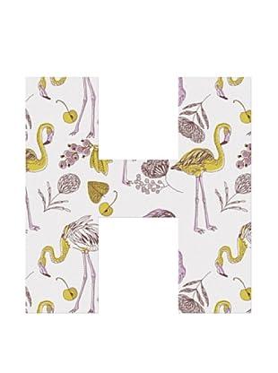 Letra Decorativa Letra H