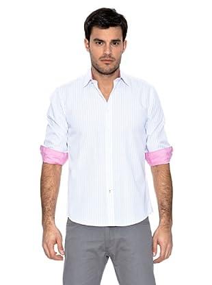 Springfield Camisa Multirayas (Rosa)