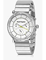 Hp.6060M.1501 Silver/White Chronograph Watch Hush Puppies