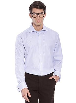 Hackett Camicia Righe (Bianco/Viola)