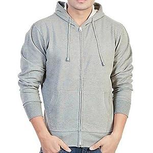 Basic Style BSH 03 Men's Sweatshirt - Light Grey