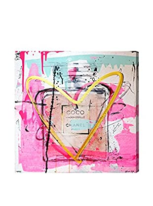 Oliver Gal Mademoiselle Remix Canvas Art