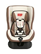 LuvLap Sports  Convertible Baby Car Seat Suitable for 0- 4 Year Baby (0-18 kgs) - Cream & Brown