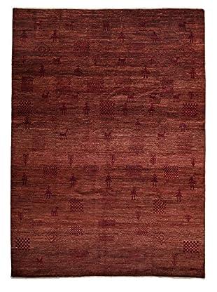 Darya Rugs Modern Oriental Rug, Red, 7' 10