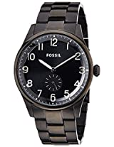 Fossil Agent Analog Black Dial Men's Watch - FS4854I