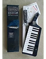 Rock Band 3 Wireless Keyboard for Xbox 360 and Keyboard Stand for Xbox 360, Playstation 3 and Wii