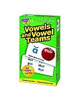 Trend Enterprises Inc. Flash Cards Vowels & Vowel Teams (Set Of 12)
