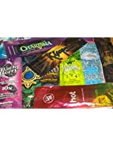 10 NEW Assorted Indoor Tanning Bed Lotion Packets From Australian Gold California Tan Swedish Beauty Designer...