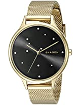 Skagen End-of-season Anita Analog Black Dial Women's Watch - SKW2385