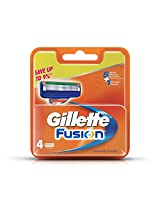 Gillette Fusion Manual Shaving Razor Blades - 4s Pack (Cartridge)