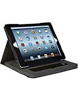 CTA Digital Bluetooth Phone Handset with Leather Case for iPad