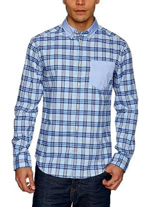 Esprit Camisa Nick (Blanco / Rojo / Azul)