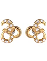 Estelle Gold Plated Studs for Women (ESER494-710)