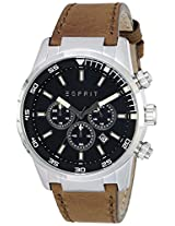 Esprit Analog Black Dial Men's Watch - ES108021004