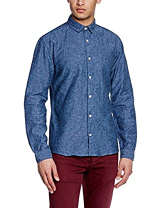 Selected Homme Camisa Hombre Luoyang (Azul)