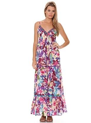 Peace & Love Vestido Bordado (Multicolor)