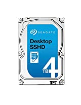 (Old Model) Seagate 4TB Gaming SSHD(Solid State Hybrid Drive) SATA 6Gb/s 64MB Cache 3.5-Inch Internal Bare Drive (ST4000DX001)