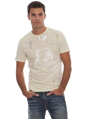 Guess Camiseta Print (blanco)
