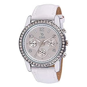 Chappin & Nellson CN-L-07-White Ladies Watch, white, white