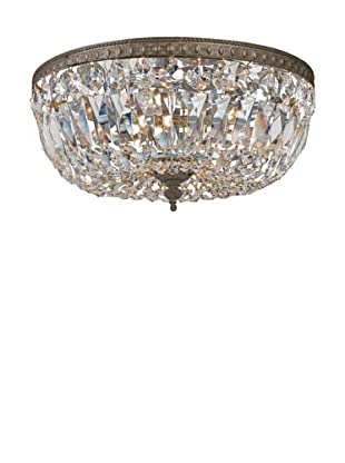 Gold Coast Lighting Crystal Basket, English Bronze