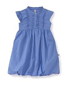 KANZ Girl's Ruffle-Trimmed Dress (Blue)