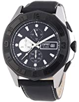 Esprit Analog Black Dial Men's Watch - Black Legacy