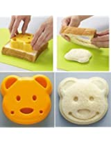 New Cute Bear Pocket Sandwich Bread Mold Mould Cutter 3Cshop