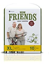 Friends Adult Diaper (Basic) - Extra Large (10 Count)
