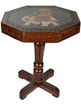 CURIO CENTRE Wooden Table (45 cm x 38 cm x 38 cm)