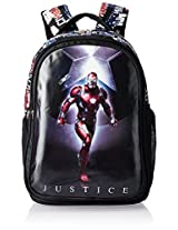 Iron Man Nylon 48 cms Black Children's Backpack (MBE-WDP0524)