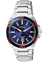 Citizen Eco-Drive Analog Blue Dial Men's Watch AW1191-51L