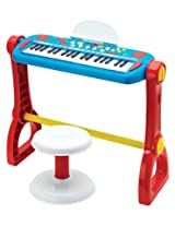 Fisher-Price Play-Along Keyboard with Stool