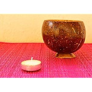 HappiSage Coconut Tea Light